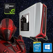 High End Gamer PC, i7 6700k, GTX1080, 32GB DDR4, SSD+HDD, WaKü, Win 10 Pro