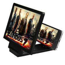 Mobile Phone 3D Screen HD Video Amplifier Magnifying Glass Stand Perfect