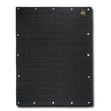 "MOLLE Organizer Panel 24"" x 32"" Mil Spec Modular Rapid Dominance T97 Black"