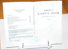 Godey's Lady's Book - August 1859 - Reprint Fashion Monthly