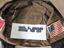 Stencil f Flightjacket Fliegerjacke A2 G1 US Army USMC Marines Vietnam Navy WWII