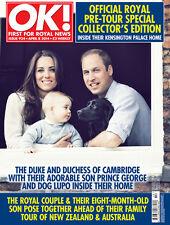 OK Magazine,Kate Middleton,Prince George,Chris Martin,Kim Kardashian,Simon Cowel