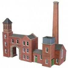 Metcalfe PO284 Boiler House, Chimney & Factory Entrance Die Cut Card Kit 00 T48P