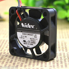 NIDEC U40X12NS2Z7-51 40x40x10mm DC 12V 0.04A Silent quiet cooling fan