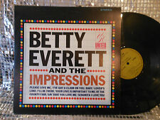 BETTY EVERETT AND IMPRESSIONS UR ORIG US EXC