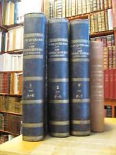 Important livre de bibliographie QUERARD: LES SUPERCHERIES LITTERAIRES DEVOILEES