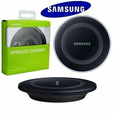 NEW GENUINE SAMSUNG GALAXY S6 EDGE BLACK QI WIRELESS CHARGER CHARGING PAD PLATE