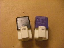 LOT OF 2 TOYOTA RELAY'S 90987-02010 & 28300-10020 STARTER RELAY