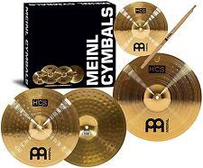 Meinl Cymbals HCS1314+10S HCS Pack Cymbal Box Set with 13-Inch Hi Hats NEW HVI