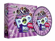 Zoom Karaoke Pop Box 2015: A Year In Karaoke Party Pack 6 120 Songs (CD+G) (New)
