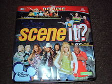 DISNEY CHANNEL DELUXE EDITION SCENE IT BOARD GAME IDEAL FOR XMAS COMPLETE VGC