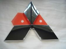 "*NEW* MITSUBISHI Emblem Badge Triple Diamond (3.75"" x 3.25"") 2008-13 7415A111"