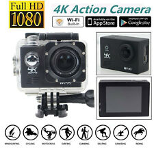 Full HD 4K@30fps SJ8000 170° HD 1080P WiFi Sports Waterproof Action Camera DV