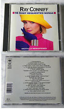 Ray Conniff - 16 Most Requested Songs .. CBS CD TOP