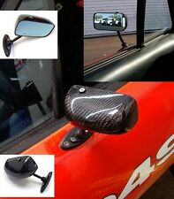 Mazda Miata NA/NB APR Carbon Fiber GT3  Mirrors with adapters!!