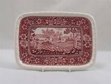 Villeroy & and Boch RUSTICANA RED butter / cheese plate 18cm