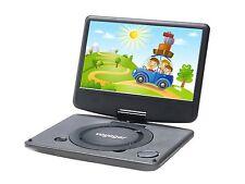 VOYAGER vycdvd 7-blk 7 pollici Schermo girevole Lettore DVD portatili (Multi Regione)