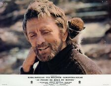 KIRK DOUGLAS THE LIGHT AT THE EDGE OF THE WORLD 1971 LOBBY CARD #2