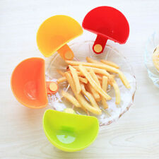 4pcs Progressive Dip Clip For Sugar Salt Tomata Sauce Creative Cup Bowls Kitchen