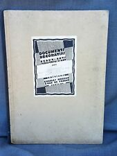 RARE DOCUMENTS ANCIENS MANUFACTURE DE SEVRES EPOQ. EMPIRE 40 PL EDIT ORIG