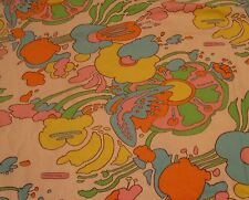 "PETER MAX ""Cameo's Cosmic Windows"" Bedspread, Curtains, Pillows, Vintage 1960s"
