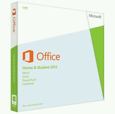 Microsoft Office Home and Student 2013 32/64bit license key