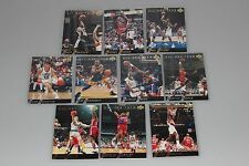 1992-93 Upper Deck All-NBA Team komplettes Set mit Michael Jordan