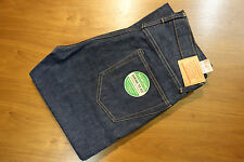 "SUGAR CANE Japanese Selvedge Rigid Denim Jeans Lot41400 32""x35"" NEW"