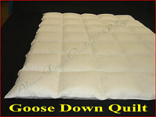 GOOSE DOWN DOUBLE DUVET QUILT 70% DOWN  4-5 BLANKET WARMTH - SUMMER  SALE
