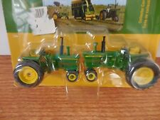 ERTL 1/64 JOHN DEERE 3020 & 4020 NARROW TRI CYCLE FRONT TRACTOR FARM TOY SET