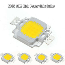 5PCS 10W LED High Power Lamp Chip Bulbs Bead Flood Light Warm/Cool White 9-12V