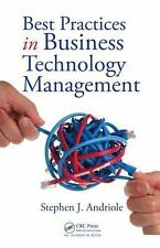 Best Practices in Business Technology Management by Stephen J. Andriole Free Shi