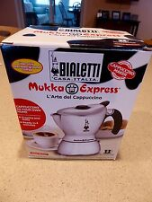 Bialetti 06990 Mukka Express 2 Cups Cappuccino Maker  - Silver