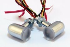 X-Arc LED Signals.  The BRIGHTEST lights in the world! Chrome Housing RedLED