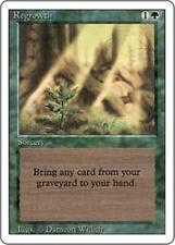 REGROWTH Revised Edition MTG Green Sorcery Unc