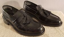Loake Brighton Black Polished Premium Tasseled Loafer 8.5 E *Excellent condition