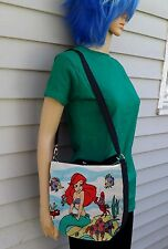 The Little Mermaid Cross Body Purse Messenger Bag Ariel