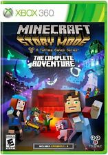 Minecraft Story Mode: The Complete Adventure - New Game - Xbox 360 (2016)