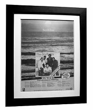 THE STYLISTICS+Sun & Soul+POSTER+AD+FRAMED+RARE ORIGINAL 1977+FAST GLOBAL SHIP