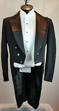 Men's Black Tail Coat- Costume, Choir, Stage, Theater- 38L