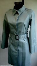AQUASCUTUM PENCRAIG Trench Rain Coat LIGHT BLUE 8 BNWT