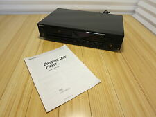 Sony CDP-208ESD CD Compact Disc Player Deck With Manual