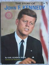 The Story of John F.Kennedy Wonder Books 1964 VG/Ex Condition Earl Schenck Miers