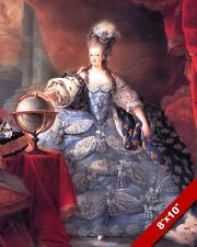 QUEEN MARIE ANTOINETTE WIFE KING LOIUS XVI FRANCE PAINTING REAL CANVAS ART PRINT