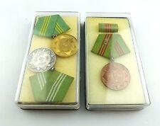 #e5600 3 DDR MdI Medaillen vgl. Nr. 141b & 142b & 143b Gold, Silber und Bronze