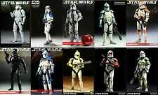 Sideshow Star Wars 1/6 sixth scale 12 inch troopers set of 10