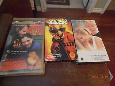 Kangaroo Jack , Fly Away Home , My Girl Lot of 3 VHS Family Movies