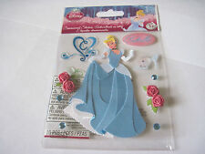 Scrapbooking Stickers Disney Cinderella Glass Slipper Roses Gown Gems More