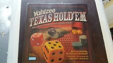 Yahtzee Texas Hold Em/Murder At Soft Rock Cafe/Snakes&Ladders Drinking Game VGC!