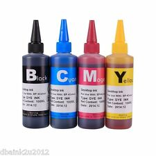 4 Pack 100ml bottles Compatible Ink for Epson XP-100 XP-200 XP-300 XP-400 CISS